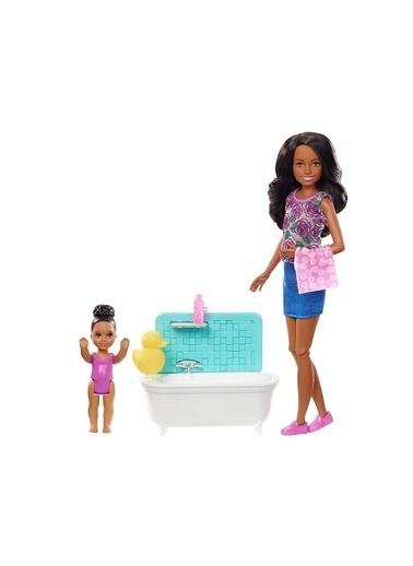 Barbie Bebek Bakıcısı Bebekler FHY97-FXH06 Renkli